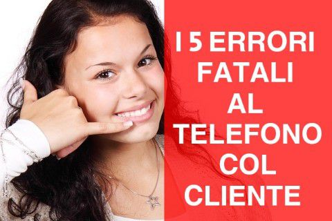 tecniche vendita obiezioni cliente telefono